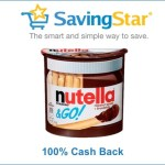 SavingStar: FREE Nutella & GO! through Sunday