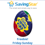 SavingStar: Free Cadbury Creme Egg through Sunday