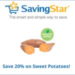 SavingStar: Save 20% on Sweet Potatoes
