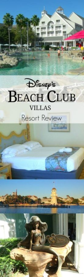 Review of Disney's Beach Club Villas & Resort including Stormalong Bay and Dining