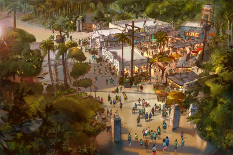 New Africa Marketplace Coming Spring 2015 to DisneyÕs Animal Kingdom