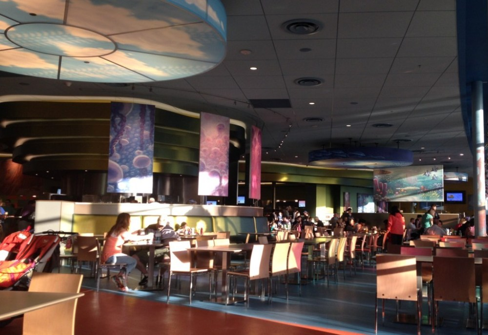 seating area at Landscape of Flavors