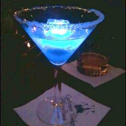 Disney Blue Glowtini Recipe