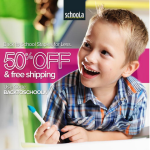 Schoola: 50% Off + Free Shipping = Great Deals on Kids' & Women's Clothes!
