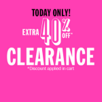 Children's Place: Extra 40% off Clearance + 20% off with Code (Today Only)