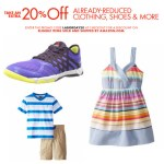Amazon: Extra 20% off Already-Reduced Clothing, Shoes and More