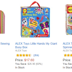Amazon: Save 50% (or more) on ALEX Toys – Today Only!
