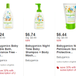Target.com: 25% off Babyganics Products + Extra 30% off New Subscriptions!