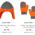 Children's Place: Cold Weather Accessories $1.99 Shipped – Today Only