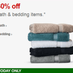 Target.com: 30% off Bed & Bath – Today Only