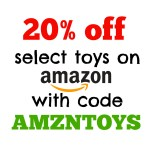 Amazon: 20% off Select Toys with Promo Code AMZNTOYS