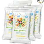 Amazon: Babyganics Face, Hand & Baby Wipes, Six 40-ct. packs as low as $5.97