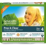 Amazon: Codes for 50% off Seventh Generation Diapers, Wipes and Cleaning Products!
