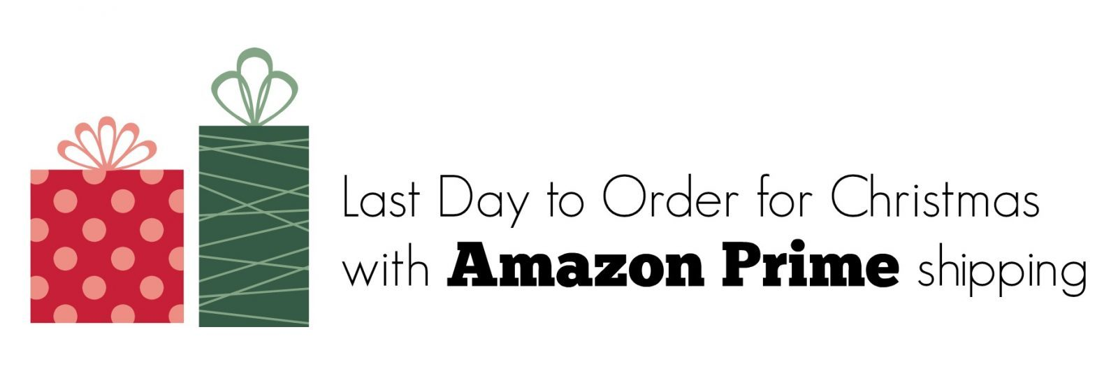 Amazon: Last Day to Order for Christmas with Free Prime Shipping + ...