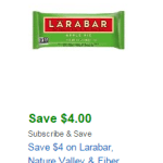Amazon: New $4 Off Larabar Coupon = Bars as low as $0.17 each!