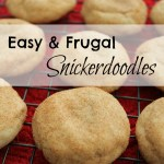 No-Butter Snickerdoodle Cookies {Recipe}