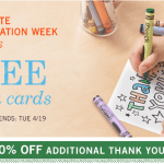 EXPIRED: Tiny Prints: 5 Free Thank You Cards + 50% off Additional Cards