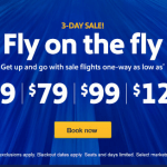 Southwest 3-Day Sale: Fares from $49 each way