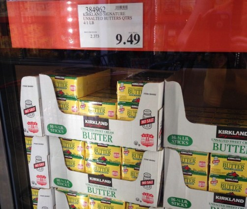 butter at costco