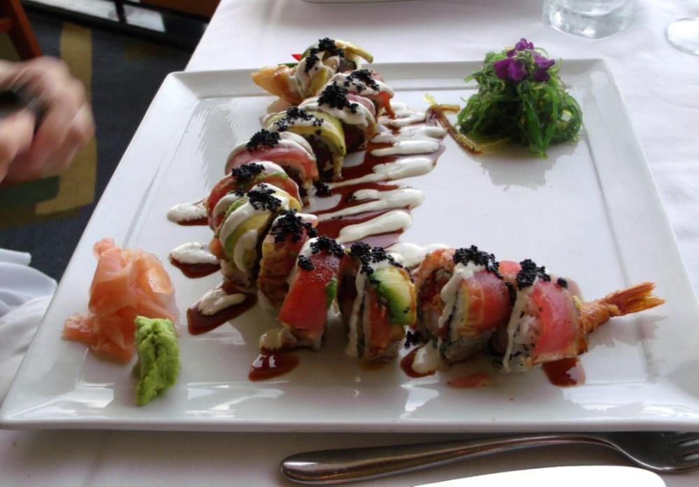 disney dining plan tips - sushi at california grill