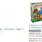 Amazon: Up to 50% Off K'Nex and Lincoln Logs