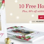 Tiny Prints: Get 10 FREE Holiday Cards (Just Pay $4.95 Shipping)