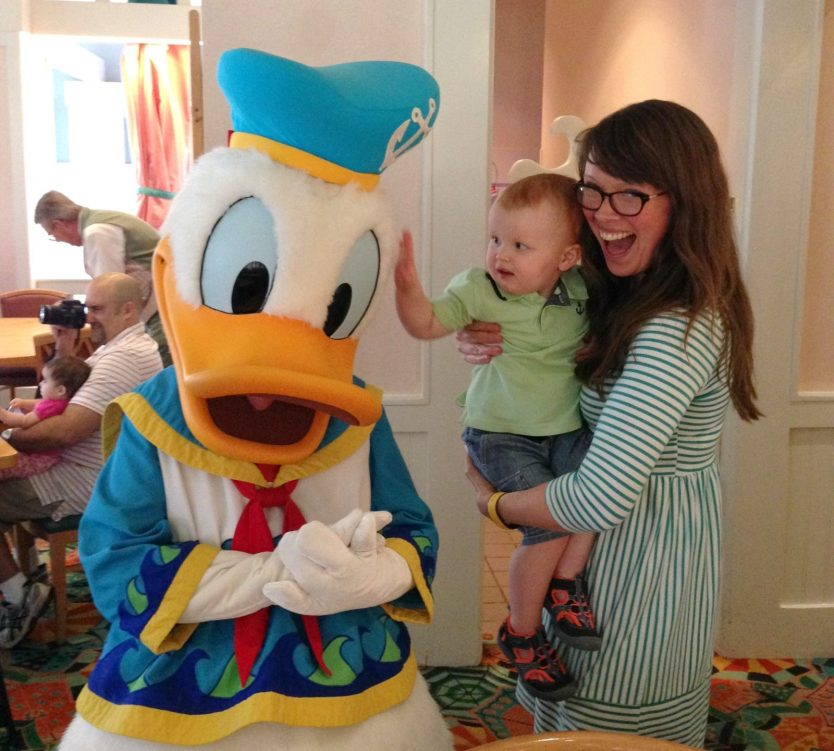 family meeting donald duck