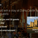 HomeAway Beauty & the Beast Giveaway: Enter to Win a Stay in a Scottish Castle