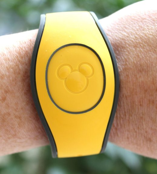 yellow magic band
