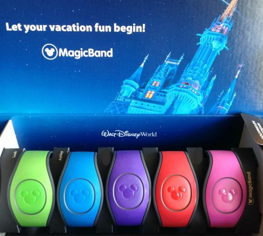 box of colorful magic bands