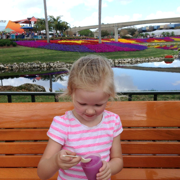 Kids will LOVE the playgrounds, butterflies, topiaries, and more at the Epcot Flower & Garden festival! Tips for getting the most out of a visit to the festival with a family.