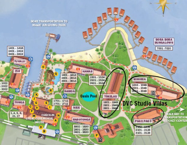 All the details on the amazing new DVC Studio Villas at the Disney's Polynesian Village Resort!