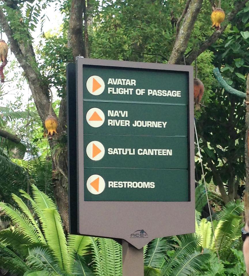 pandora avatar land sign