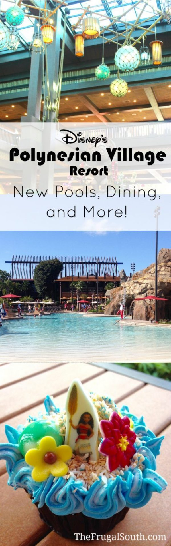 All the details on updates to the pools, dining, and lobby at Disney's Polynesian Village Resort. Tips to help you plan your stay at the Polynesian or just visit the resort. A Disney World Resort Review from The Frugal South.