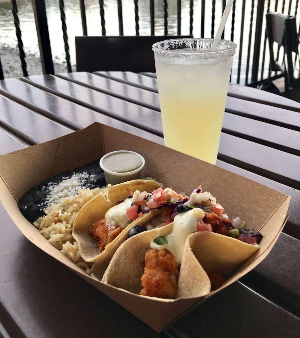 fish tacos at La Cantina de San Angel in Epcot - disney quick service dining plan