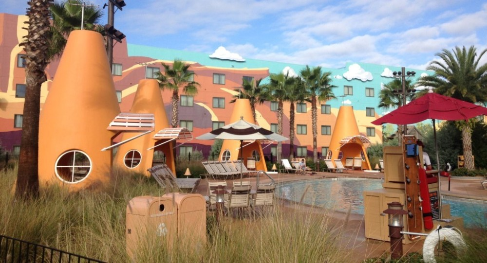 cars pool at Art of Animation Resort