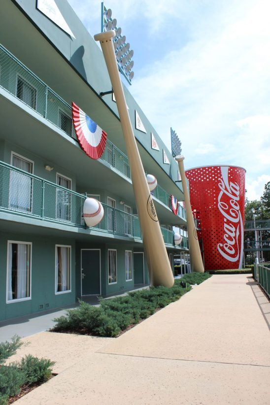 walkway at all star sports resort
