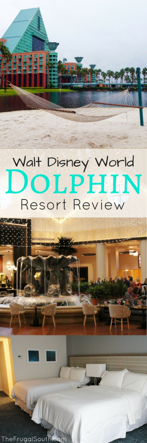 Pros and cons of the Walt Disney World Dolphin, a non-Disney resort located on Disney property! There is so much to know about this unique hotel. A thorough resort review of the Disney Dolphin. #disneyworld