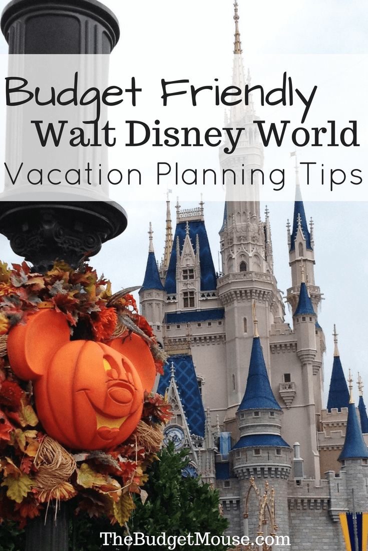 Disney World Vacation Planning Tips For ANY Budget!