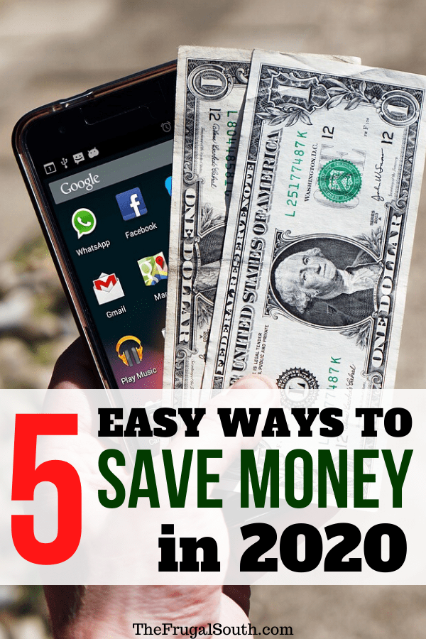 5 Easy Ways To Save Money This Year