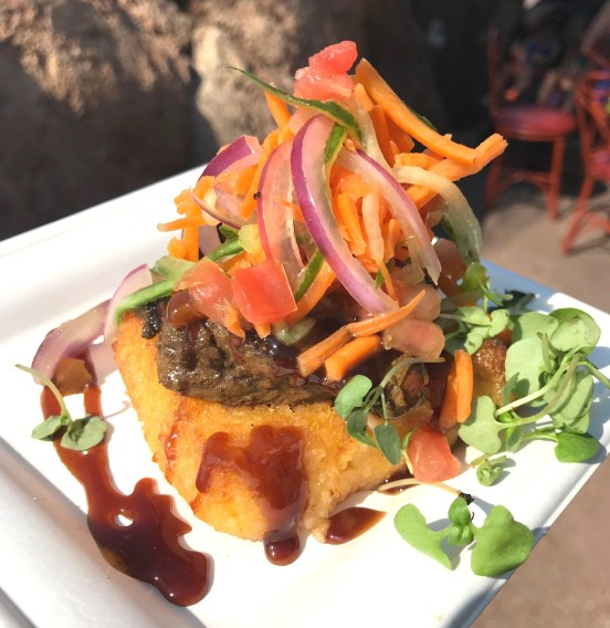 Kenyan Coffee Barbecue Beef Tenderloin from the Africa booth