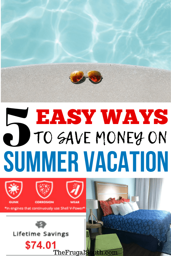 5 Easy Ways To Save Money On Your Summer Vacation