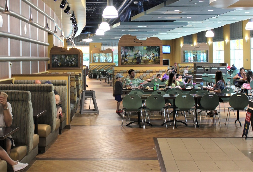 restaurant dining area