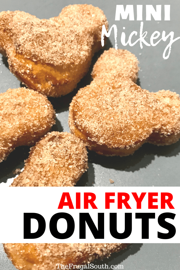 These Mini Mickey Air Fryer Donuts Will Make Any Morning Magical