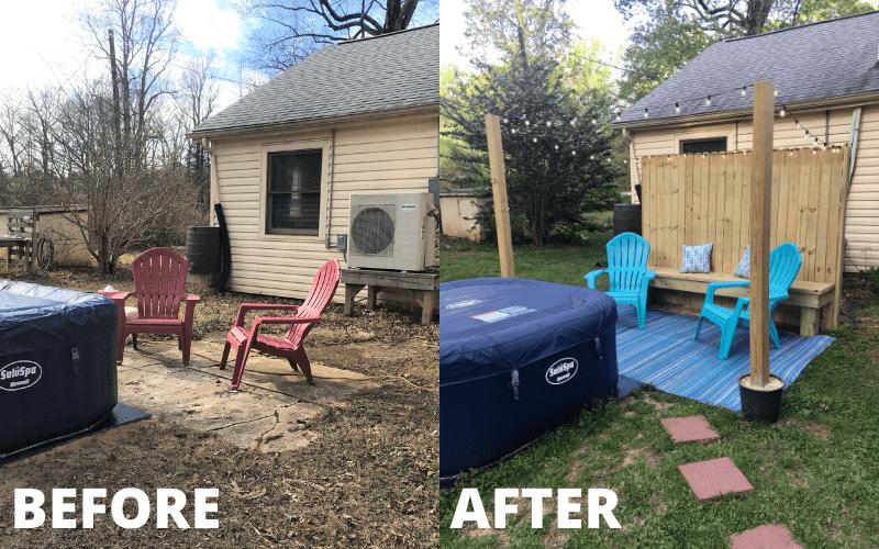 a budget our 160 diy patio makeover