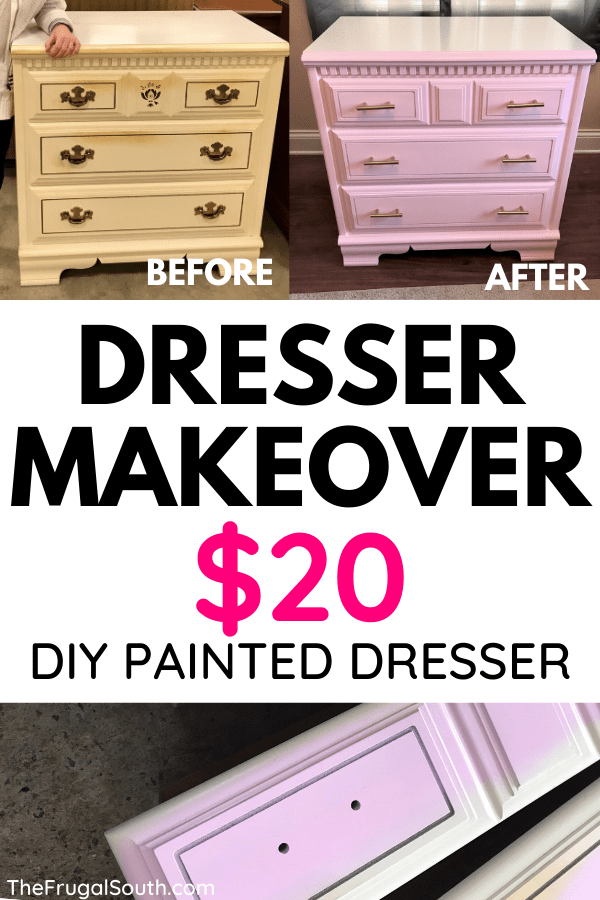 Kid-Friendly DIY Dresser Makeover!