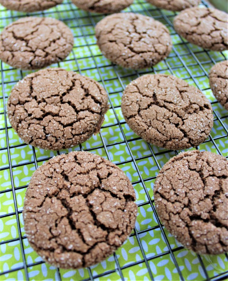 dairy free cookies cooling on a rack
