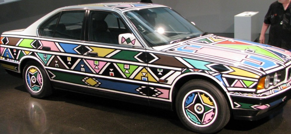 BMW Art Car Esther Mahlangu