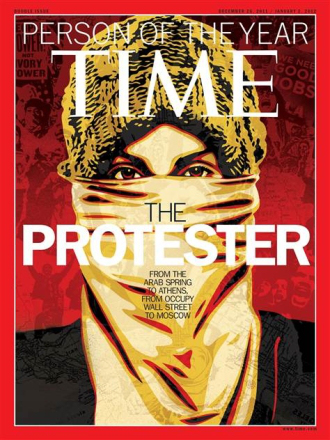 Fees Must Fall protest Time Person of the year