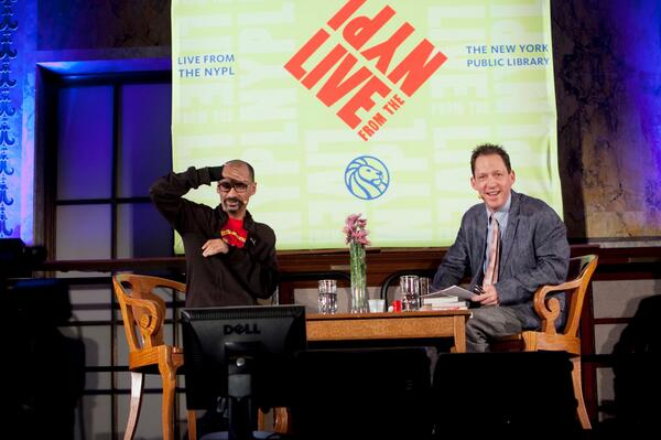 Junot Diaz Paul Holdengraber New York Public Library NYPL Podcast
